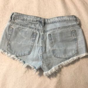 Cotton On Shorts - High Waisted Cotton On Jean Shorts